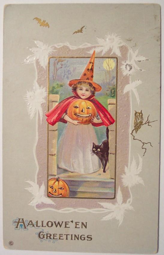 Ilustracion Halloween antigua 104