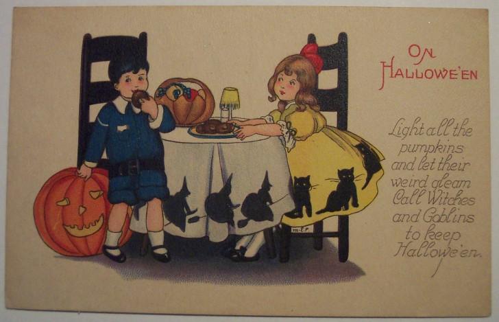 Ilustracion Halloween antigua 105
