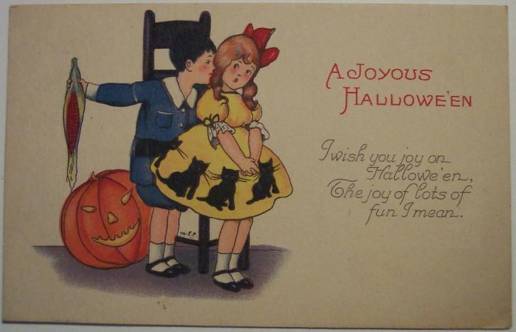 Ilustracion Halloween antigua 106