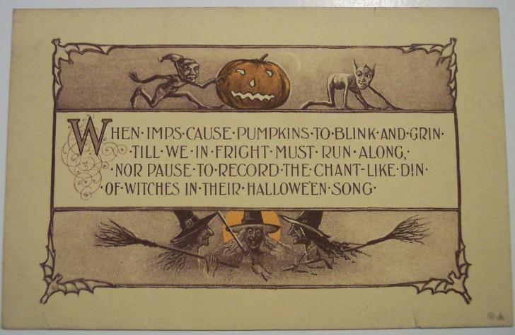 Ilustracion Halloween antigua 107