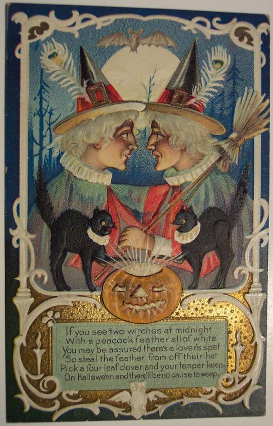 Ilustracion Halloween antigua 109