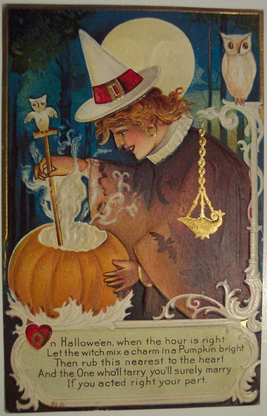 Ilustracion Halloween antigua 110