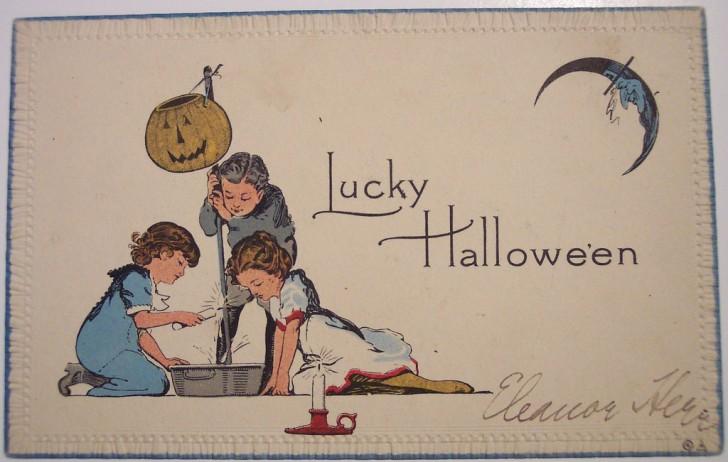 Ilustracion Halloween antigua 112