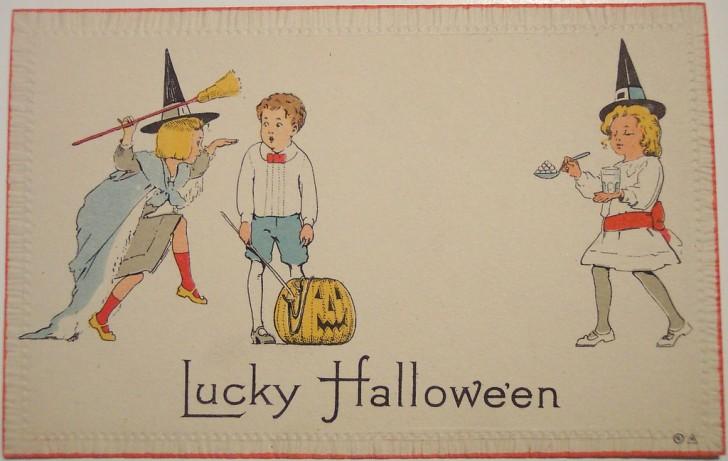 Ilustracion Halloween antigua 113