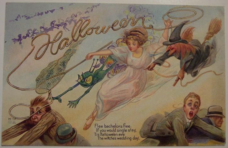 Ilustracion Halloween antigua 115