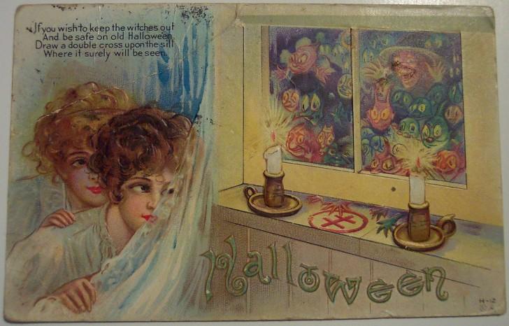 Ilustracion Halloween antigua 116