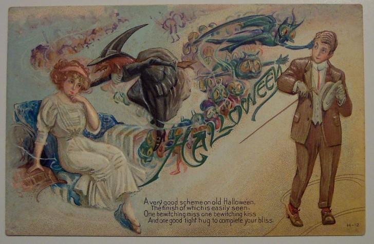 Ilustracion Halloween antigua 118