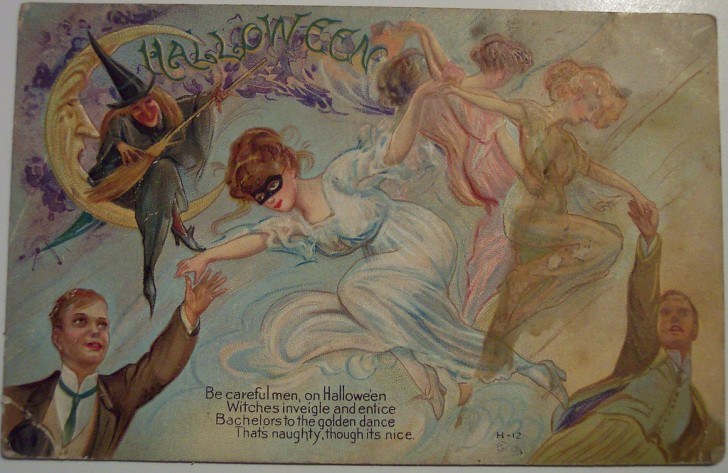 Ilustracion Halloween antigua 119