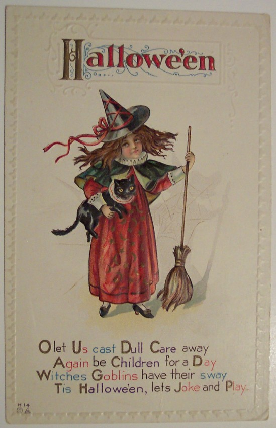 Ilustracion Halloween antigua 122