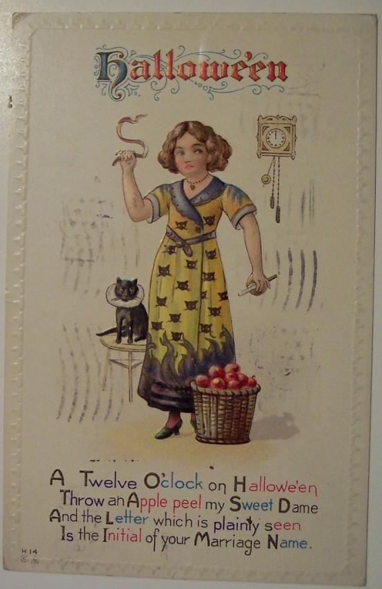 Ilustracion Halloween antigua 123