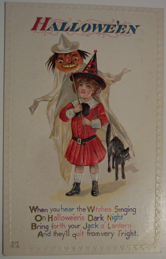 Ilustracion Halloween antigua 124