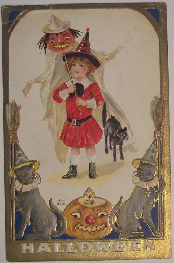 Ilustracion Halloween antigua 125
