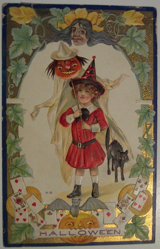 Ilustracion Halloween antigua 127
