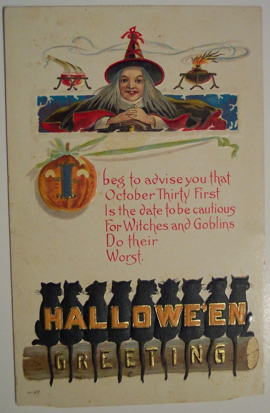 Ilustracion Halloween antigua 129
