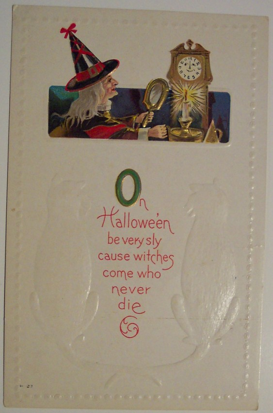 Ilustracion Halloween antigua 131
