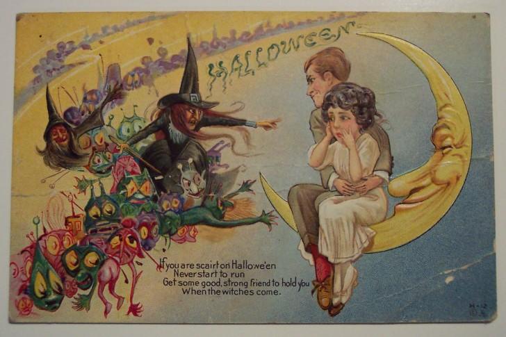 Ilustracion Halloween antigua 133