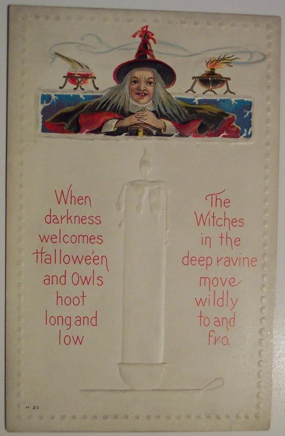 Ilustracion Halloween antigua 136