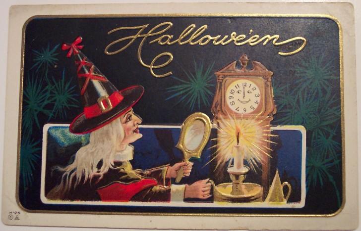 Ilustracion Halloween antigua 138