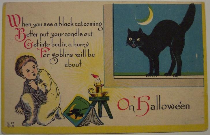 Ilustracion Halloween antigua 140