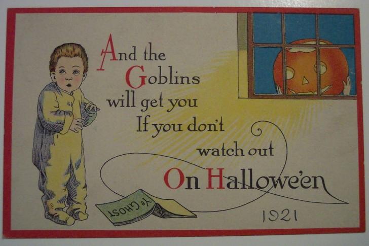 Ilustracion Halloween antigua 141