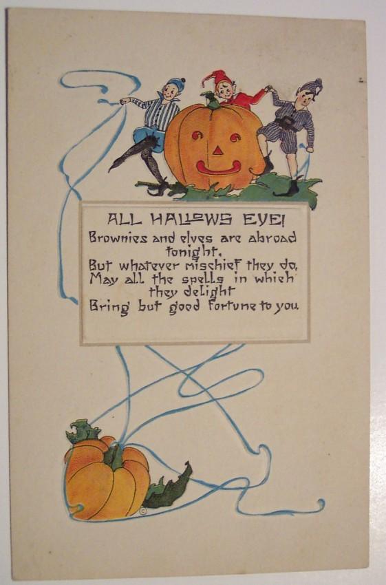 Ilustracion Halloween antigua 142