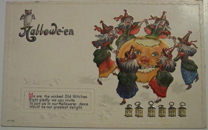 Ilustracion Halloween antigua 144