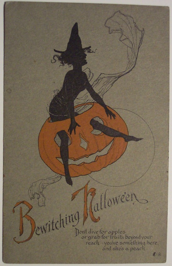 Ilustracion Halloween antigua 145