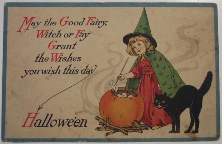 Ilustracion Halloween antigua 146