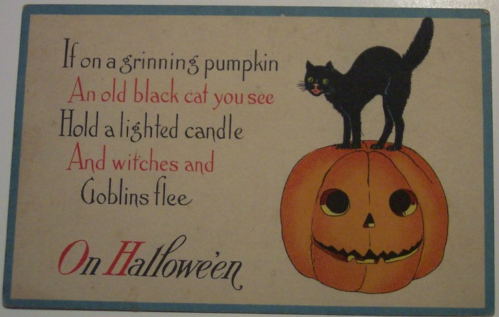 Ilustracion Halloween antigua 147