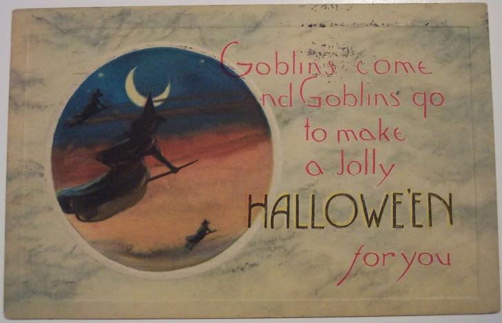 Ilustracion Halloween antigua 149
