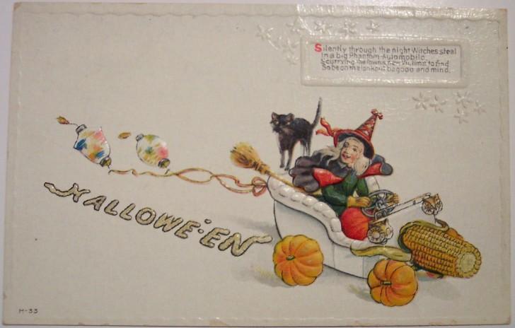 Ilustracion Halloween antigua 150