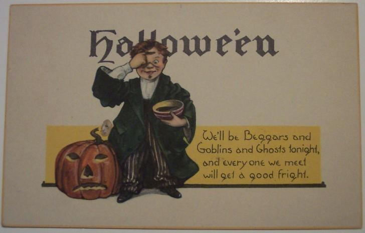 Ilustracion Halloween antigua 151