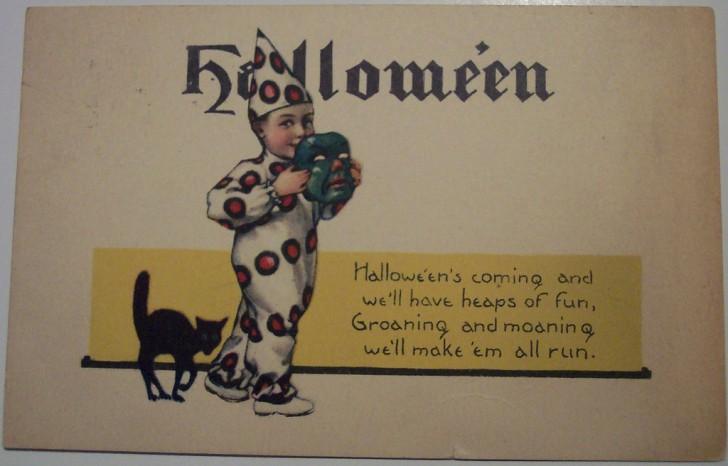 Ilustracion Halloween antigua 152