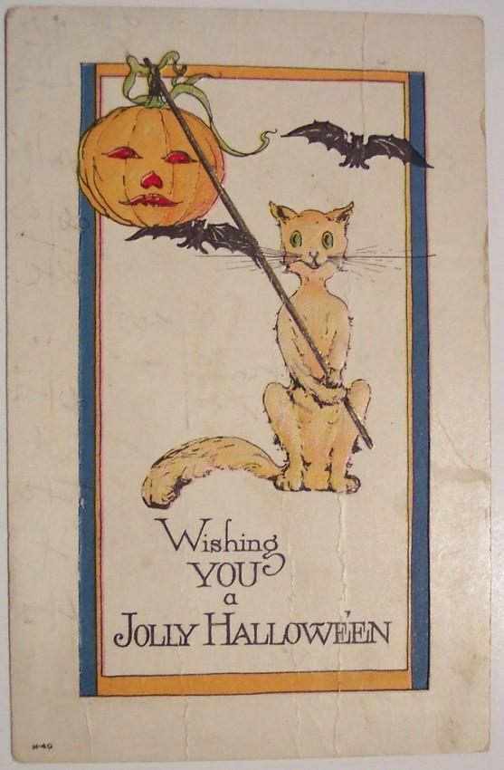 Ilustracion Halloween antigua 153