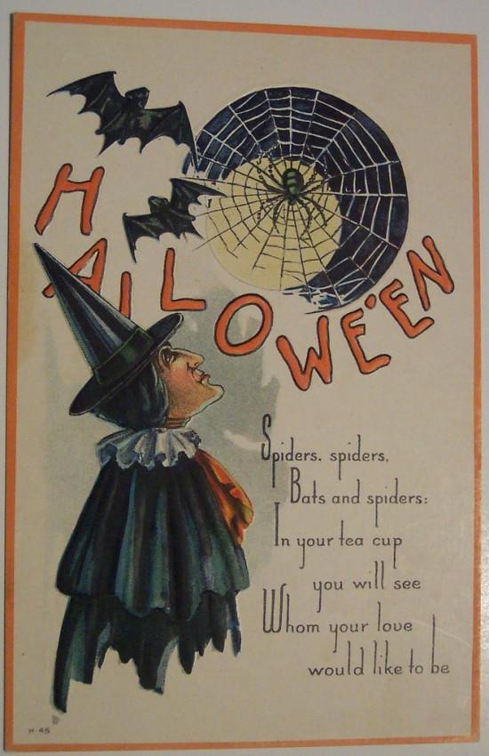 Ilustracion Halloween antigua 154