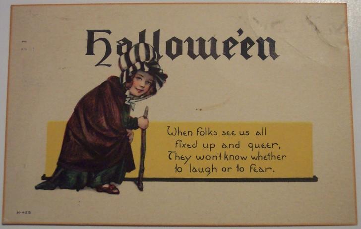 Ilustracion Halloween antigua 155