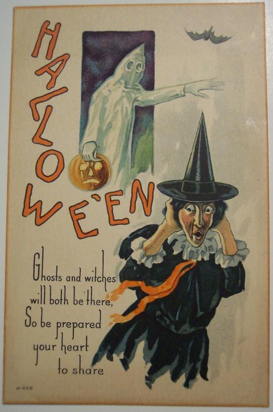 Ilustracion Halloween antigua 156