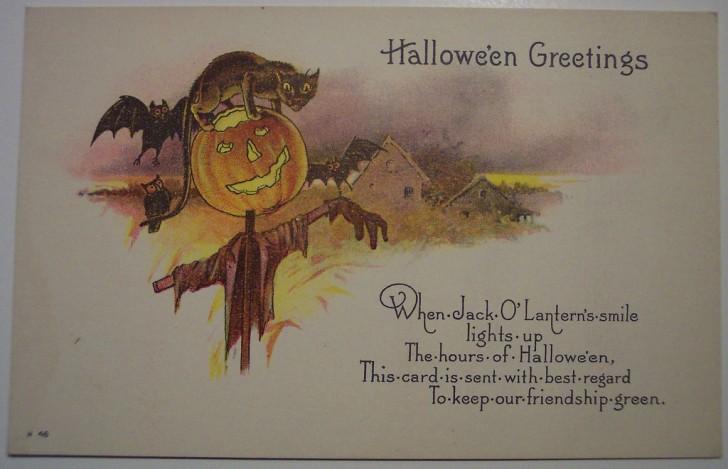 Ilustracion Halloween antigua 157