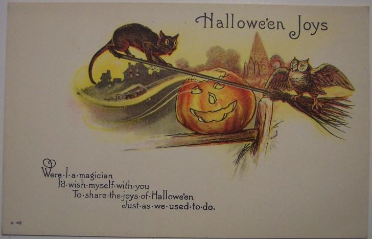 Ilustracion Halloween antigua 159
