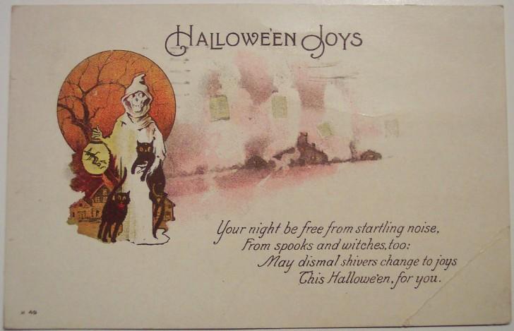 Ilustracion Halloween antigua 160