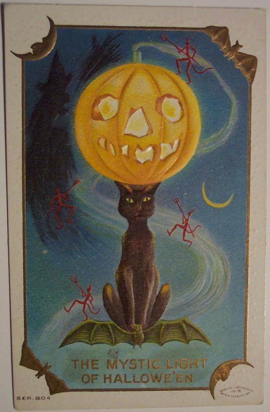 Ilustracion Halloween antigua 161