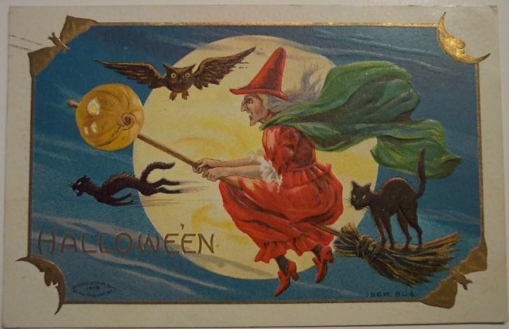Ilustracion Halloween antigua 163