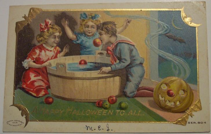 Ilustracion Halloween antigua 164