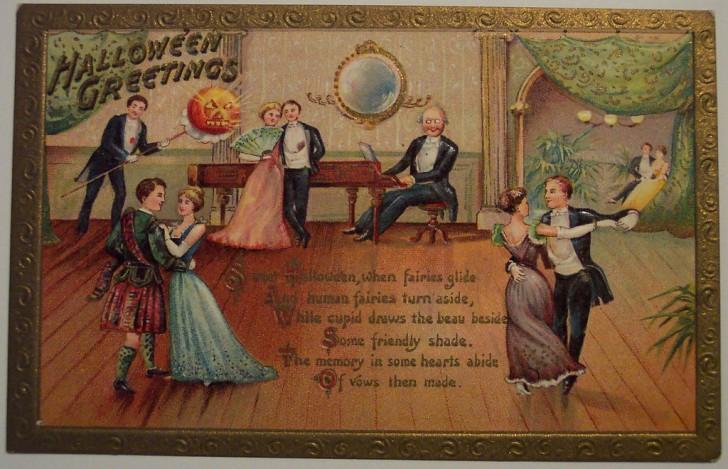 Ilustracion Halloween antigua 167