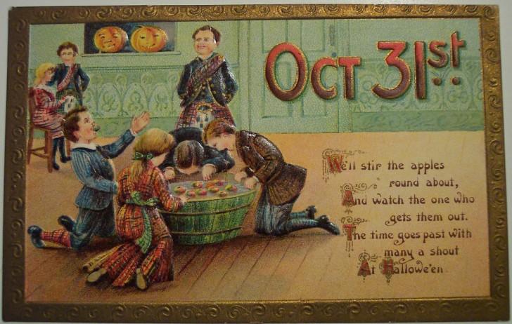 Ilustracion Halloween antigua 168