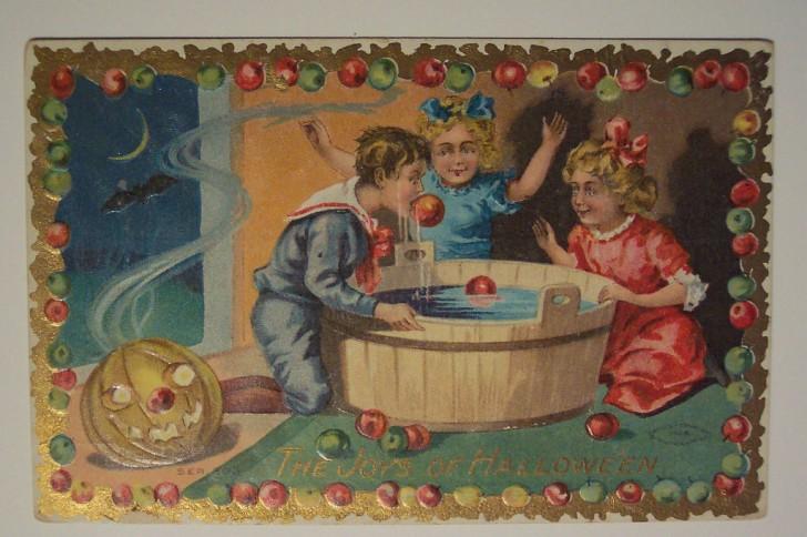 Ilustracion Halloween antigua 169