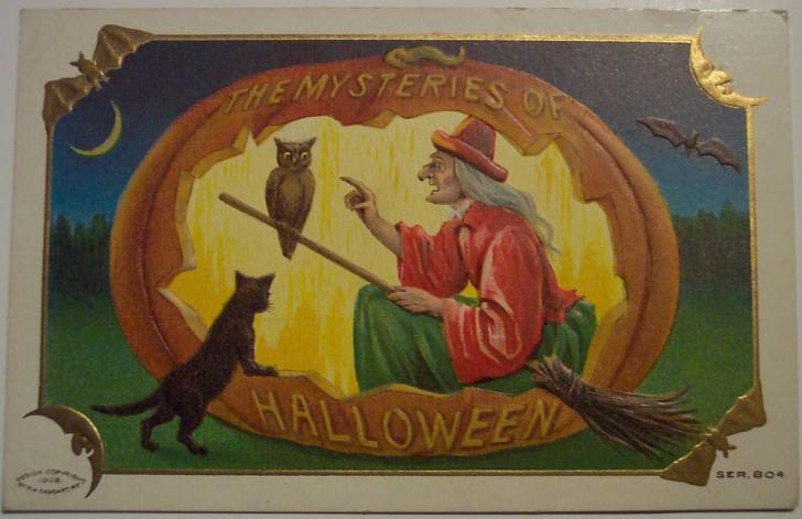 Ilustracion Halloween antigua 170
