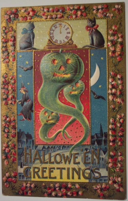Ilustracion Halloween antigua 172