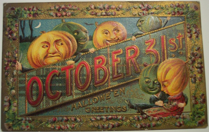 Ilustracion Halloween antigua 173