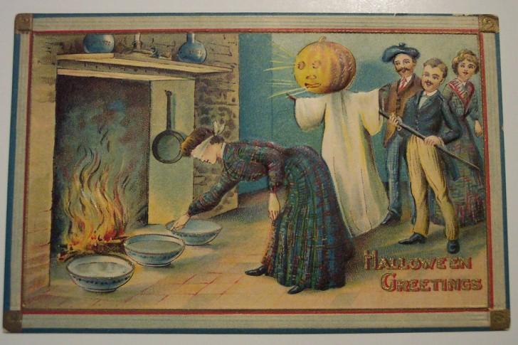 Ilustracion Halloween antigua 175